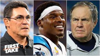 Did Ron Rivera prepare Cam Newton for Bill Belichick's coaching? | First Take