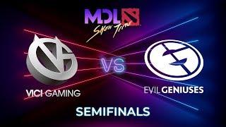 Vici Gaming vs Evil Geniuses Game 1 - MDL Macau 2019: Semifinals
