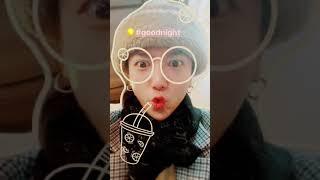 181125 Yesung IG Story   #Goodnight 😍