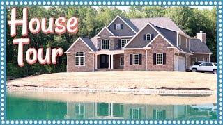 OUR EMPTY HOUSE TOUR & WHOLE HOUSE CONSTRUCTION MONTAGE