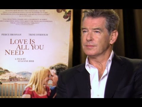 Pierce Brosnan Talks Working On Danish Film Love Is All You Need ...