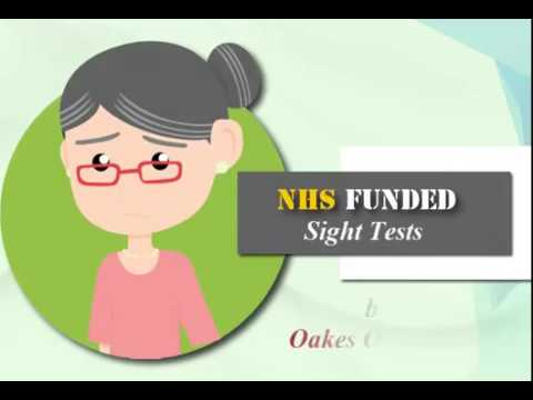 NHS funded sight tests by Oakes Opticians