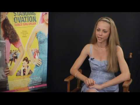 Interview with Kayla Jackson fo Standing Ovation - YouTube