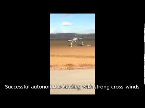 ALTINAY UAV Strong Wind Landing