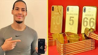 Who Gifted 24K GOLD iPhone XS to All Liverpool Players?