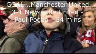 Manchester United v Newcastle United | Match Day Vlog | Premier League | 18.11.2017