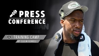 Clelin Ferrell on first day of pads and transition to NFL | Raiders