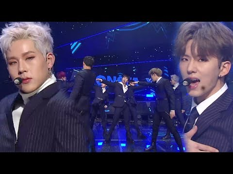 《POWERFUL》 MONSTA X(몬스타엑스) - DRAMARAMA(드라마라마) @인기가요 Inkigayo 20171119
