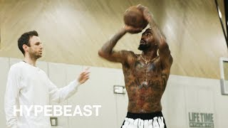 JR Smith Shooting Drills & Workout with NBA Trainer Chris Brickley