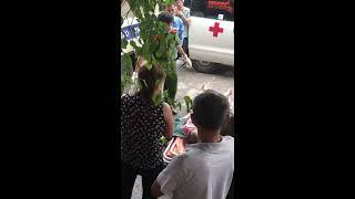 Cận cảnh khám nghiệm tử thi nạn nhân. Tại đường tròn Tân Long -Tp Thái Nguyên .