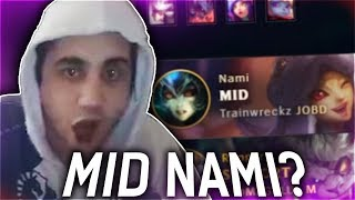 DID HE JUST LOCK IN NAMI MID? | ft. TRAINWRECKSTV