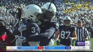 Penn State back to winning ways taking down Wisconsin