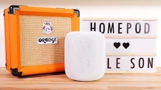 Que vaut le son du HomePod ? Notre test face à la Sonos One !