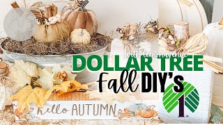 DOLLAR TREE FALL DIY | Home Decor