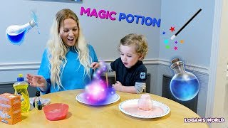 MAGIC POTION Easy Science Experiment for kids to do at home