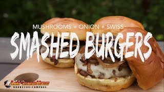 Smashed Burger Recipe - How To Make Smashburgers On The Weber Kettle And Drip 'N Griddle Easy