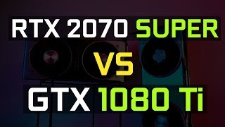 【Jing】RTX 2070 Super 能超越上一代卡皇 GTX 1080 Ti 嗎?