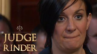 Courtroom Drama As Woman Is Caught Lying To Judge Rinder | Judge Rinder