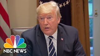 Watch President Donald Trump Doubt Russian Meddling, Then Take It Back The Next Day | NBC News