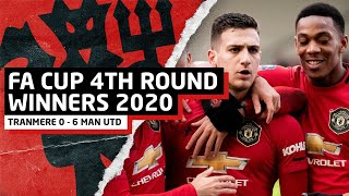FA Cup 4th Round Winners 2020!! | Tranmere 0-6 United | Match Review