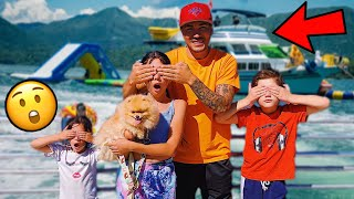 SURPRISING OUR KIDS WITH THEIR DREAM VACATION!! | Familia Diamond
