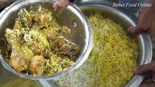 Chicken Biryani Preparation In Bandel Picnic Spot | Street Food Online 2018