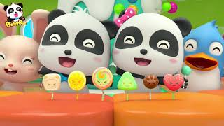 Baby Panda's Candy Shop | Rainbow Candy, Cotton Candy, Fruit Candy | Kids Song | BabyBus