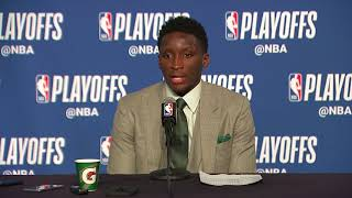 Victor Oladipo Postgame Interview | Pacers vs Cavaliers - Game 7 | April 29, | 2018 NBA Playoffs