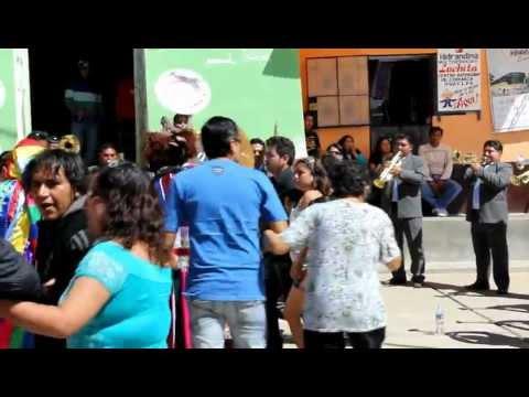 BANDA  ORQUESTA  SHOW  FILARMONICA  LLIPA   BARRIO DE  YACUP  2012