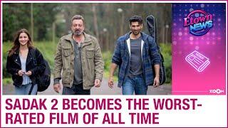 Sadak 2: Alia Bhatt, Sanjay Dutt starrer film becomes the ..