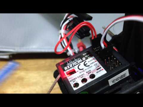 how to change transmitter mode with dji 2 assist