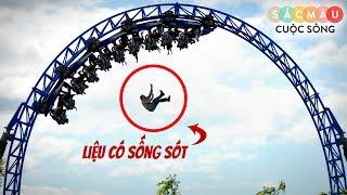 10 tai nạn KINH HOÀNG tại các công viên giải trí !!!