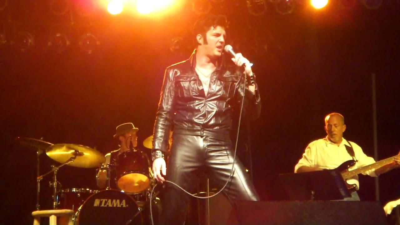 Elvis Tribute Ryan Pelton - If I Can Dream - YouTube