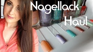 Beauty by oOMauMouseOo – Nagellack Haul mit Live Swatches ( Catrice & p2 )
