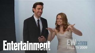 The Office': John Krasinski & Jenna Fischer Tease Jim & Pam's Wedding | Entertainment Weekly