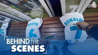 Inside the Real Madrid dressing rooms