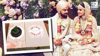 Watch: Anushka & Virat's unique wedding card will melt..