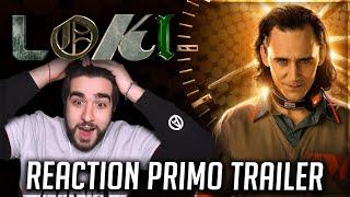 Loki - REACTION al PRIMO TRAILER