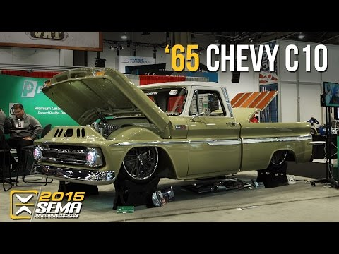 SEMA 2015 | 1965 Chevy C10 | Slosh Tubz