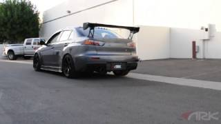 Mitsubishi Evolution X | ARK DT-S Exhaust System with optional test pipe