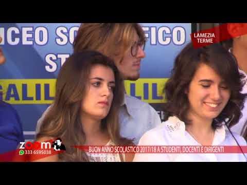 """Liceo Scientifico """"Galilei"""" Lamezia Terme.Inaugurazione anno scolastico 2017/2018"""