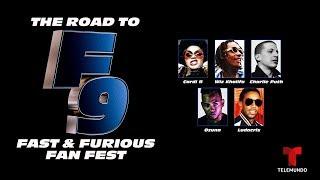 The Road to F9: Fast & Furious Fan Fest   Livestream   Telemundo English