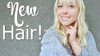 I Got Bangs / My New Hair!