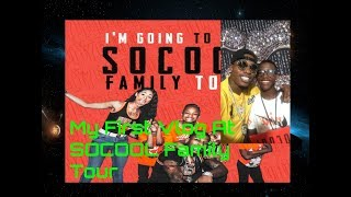 My First Vlog! ( At SoCoolFamily Tour)