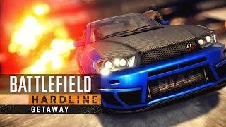 Battlefield Hardline - Getaway Cinematic Trailer
