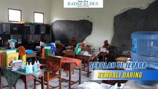 PTM di Jepara Dihentikan karena 25 Siswa Positif Covid 19
