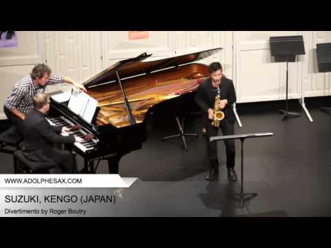Dinant 2014 - SUZUKI, KENGO (Divertimento by Roger Boutry part.1)