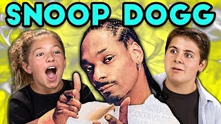 KIDS REACT TO SNOOP DOGG