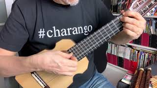 AMANKAY - Zamba para un Charango / Jorge Milchberg (Pablo playing charango at home while quarantine)