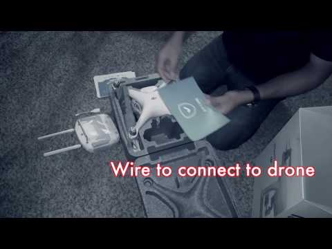 ड्रोन भिडिओ  | DJI Phantom 4 Quadcopter Drone Unboxing 2016 Video [Full HD]